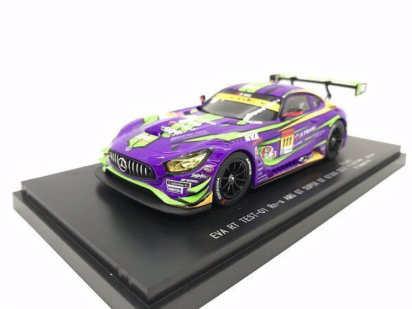 1/43EVA RT TEST-01 Rn-s AMG GT #111