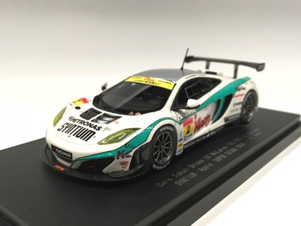 1/43 SYNTIUM・Apple・MP4-12C SUPER GT300 2014 No2