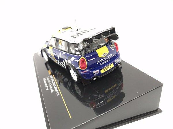 Rally Sweden 2012 1:43 Ixo Mini John Cooper Works WRC #52