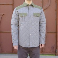 SMART WOOL -Men's Summit County Quilted Shirt Jacket