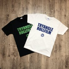 「 code M 」TRYANGLE×ROLLFILM T-shirt
