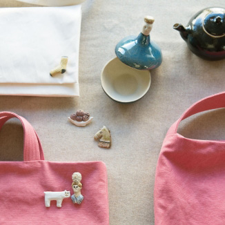 BAGS AND BROACHES