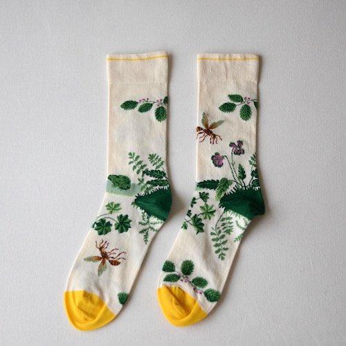 socks Natural Wasp