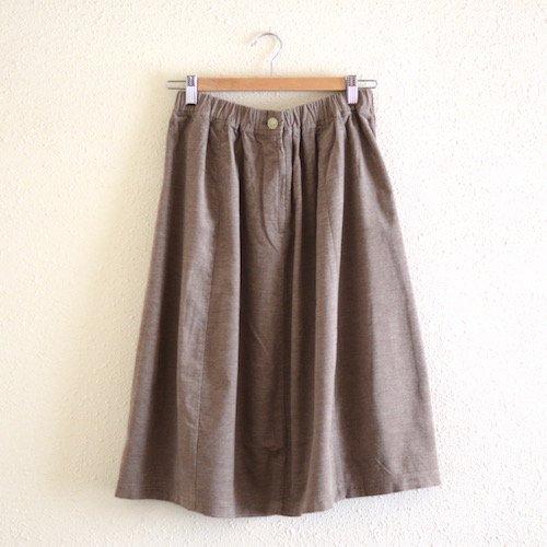 ソフトコーデュロイスカート Light Brown