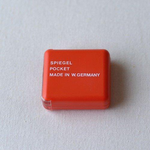 SPIEGEL 西ドイツ製ポケットルーペ