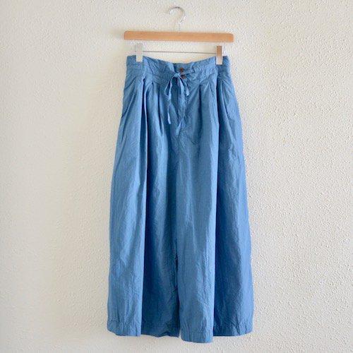 コットンタックキュロットスカート Blue