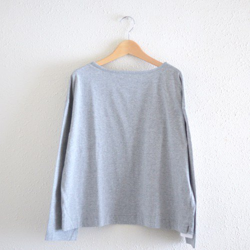 USコットンスクエアTシャツ 杢Gray