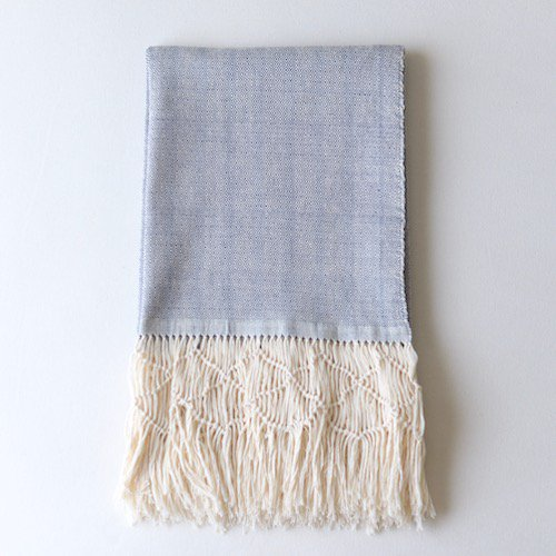 Rebozo Wovenshawl Dark Blue