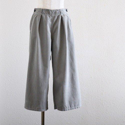 コーデュロイセーラーパンツ Gray