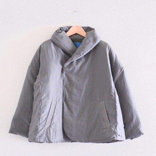 ショールカラーダウンジャケット Gray