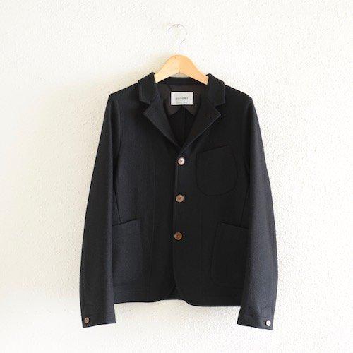 ウールショートジャケット Black