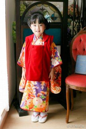 菊花舞 七五三3歳