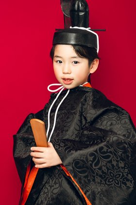平安装束衣装 5歳 衣冠セットレンタル  【神主・時代衣装・映像・演劇】