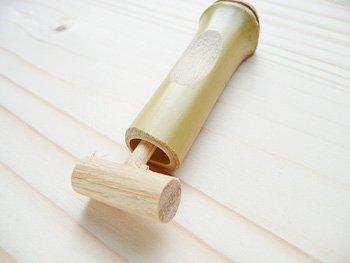 箸置き 竹 手作り/水鉄砲箸置き(竹製) 箸休め テーブルウエア