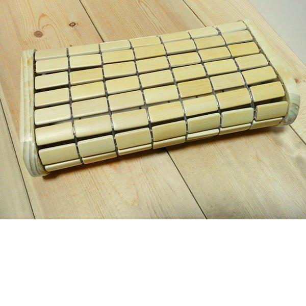 竹ブロックまくら/冷んやり冷たい健康枕・夏も安眠・快眠枕/