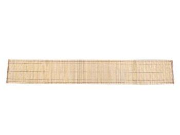 竹のテーブルセンター/クロス(白120cm)長いお座敷テーブル用