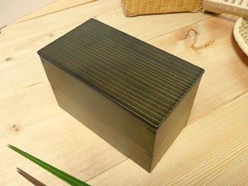 【廃盤】神代色二段弁当箱(重箱)/在庫無い場合納期をお知らせ