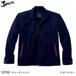 【jawin】ジャウィン秋冬作業服【52700ストレッチジャンパー】
