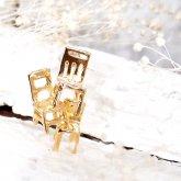 Fillyjonk フィリフヨンカ chair -3 pierced-gd-sv(片耳)