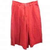 【30%OFF】REVERBERATE リバーバレイト skirt Trousers Red