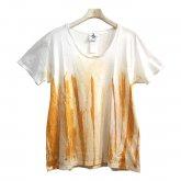 A STORY×TAKUYA KANZAWA サビ染めTシャツ ロゴなし