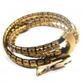 【ラスト1点】カガリユウスケ zip bracelet - Double ジップ ブレスレット ダブル GD
