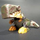 【スチームパンク展 7】カミクボユウスケ 自在陶芸 ティラノサウルス メカ 1点もの