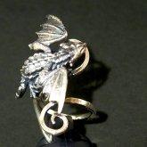 林檎屋 指乗りドラゴン シルバーリング