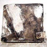 【受注】カガリユウスケ 二つ折り財布 スナップ付き 都市型迷彩