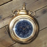 【蓄光】星空の掛け時計 天体観測 アンティーク クロック リプロダクト