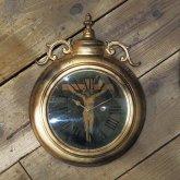 イエスキリスト ジーザスクライシストの掛け時計 ゴシック クロック リプロダクト