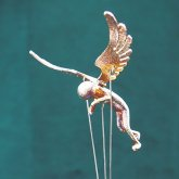 【受注】アトリエpuchuco 天使 からくり人形 エンジェル オブジェ アート