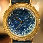 星の腕時計 天体観測 蓄光文字盤