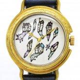アート腕時計「深夜の集会」イラストレーター 小笠原あり × A STORY TOKYO