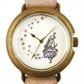 アート腕時計「ロマンを運ぶ男」イラストレーター 小笠原あり × A STORY TOKYO