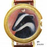 アート腕時計 クロノキャンバス gio × A STORY TOKYO