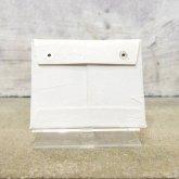 カガリユウスケ 封筒型 コインパース 財布 white