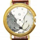 アート腕時計 クロノキャンバス askichi × A STORY TOKYO イヤイライケレ(ミナ)「笑顔の時も」