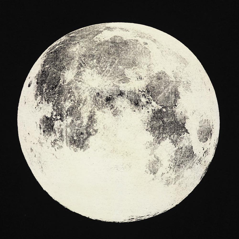 月面 蓄光tシャツ in the moon 月 満月 a story tokyo