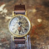 ミツバチの腕時計 Classic Wristwatch honey bee