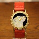 アート腕時計 「運命と一緒に」ポーラベアー askichi クロノキャンバス ポーラベアーの腕時計