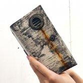 【ラスト1点】カガリユウスケ 手帳型 iPhoneケース ダクト付き uc 都市型迷彩