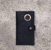 カガリユウスケ 手帳型 iPhone8 Plus/7 Plus ケース ダクト付き bk ブラック