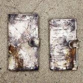 【ラスト1点】カガリユウスケ 手帳型 iPhoneケース uc 都市型迷彩