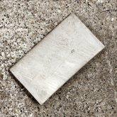 【ラスト一点】カガリユウスケ 名刺入れ カードケース グレイ 灰色 grey gray