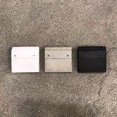 【グレイ、ブラックのみ在庫有】カガリユウスケ 三つ折り財布 ホワイト グレイ ブラック 都市型迷彩 kagariyusuke