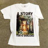 A STORY TOKYO エントランス ファンタジー Tシャツ 廃墟 退廃