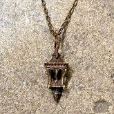 【ラスト1点】烏堂 ランタンシリーズ ネックレス 真鍮