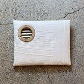 【受注】カガリユウスケ 封筒型小銭入れ + ダクト 白 ホワイト white