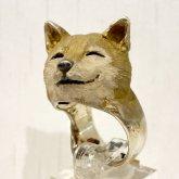 DECOvienya デコヴィーニャ おててシバイヌリング 芝犬の指輪